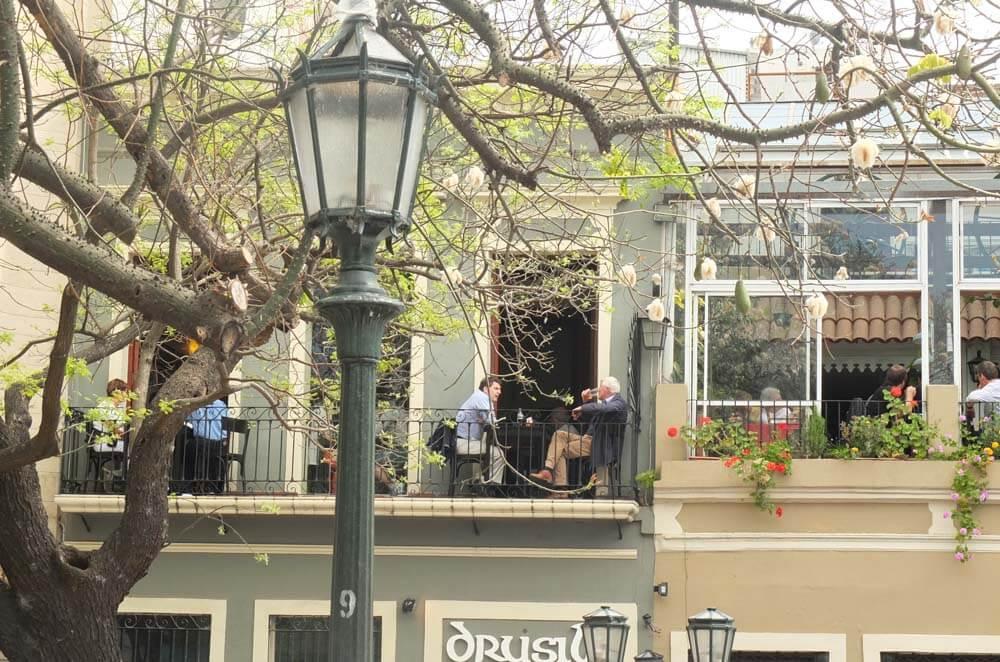 Balcones de Plaza Dorrego